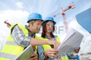 direttore dei lavori e l ingegnere di lavoro sul cantiere